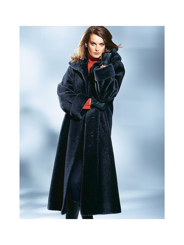 Em Peter Hahn Aus Damen Alpaka Kapuzen Mantel Brillant 2H9EID