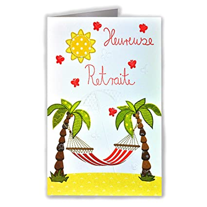 afie 32551 tarjeta despedida Feliz jubilación - Hamaca ...