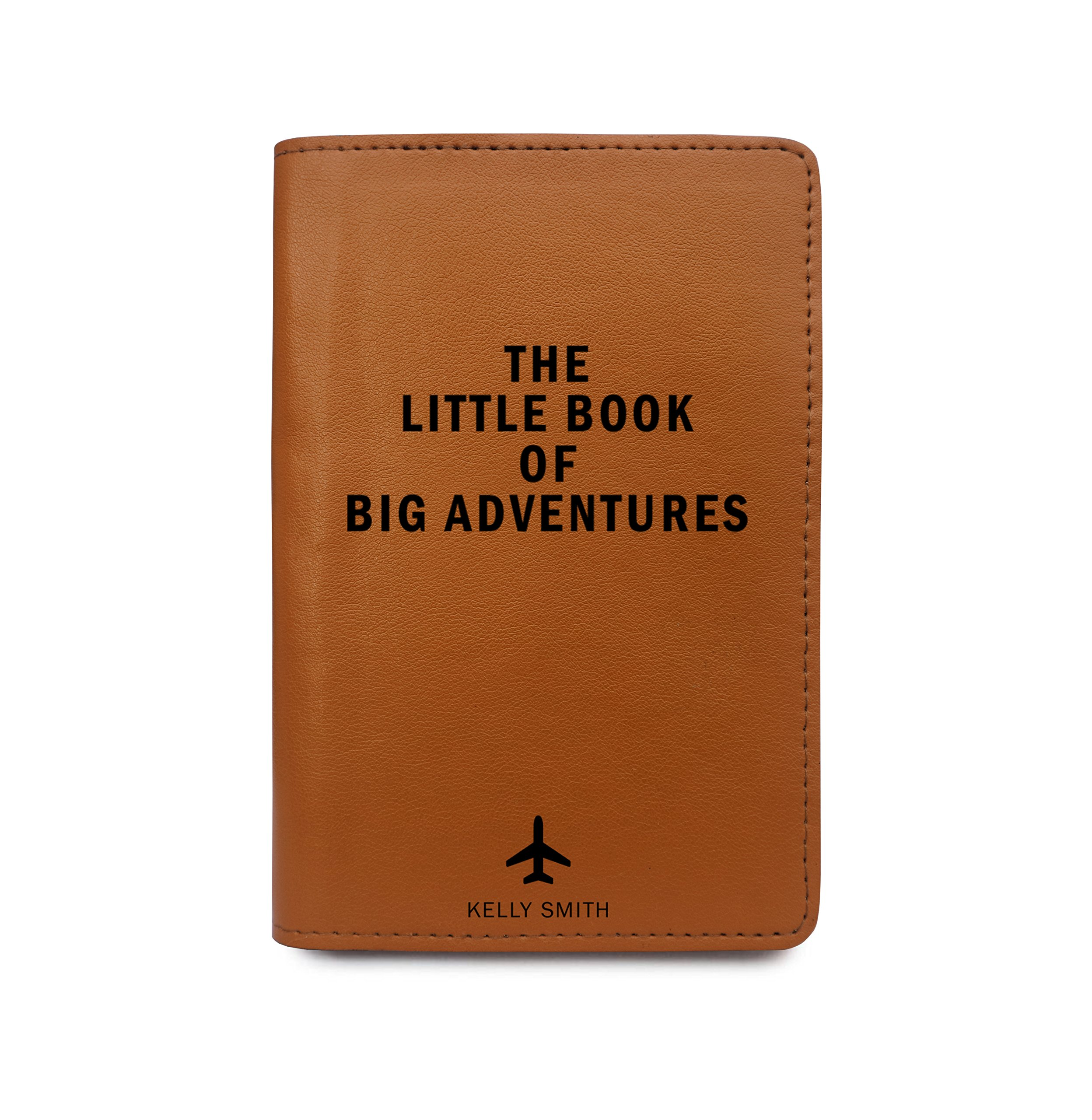 Personalized Leather Passport Cover Wallet - The Little Book Of Big Adventures by With Love From Julie (Image #1)
