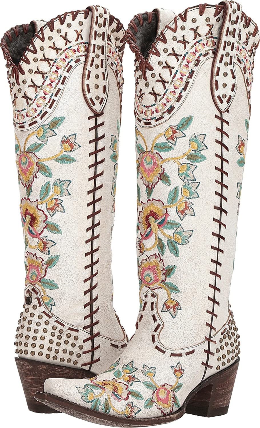 Double D Ranchwear by Old Gringo Womens Almost Famous B078NGY3Q5 7 B(M) US|Crackled Taupe