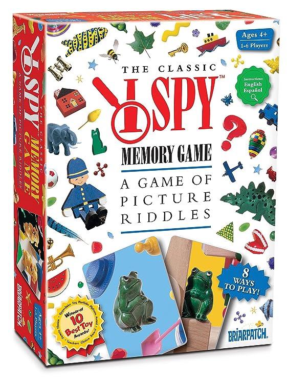 Amazon.com: Briarpatch I SPY Memory Game: Game: Toys & Games