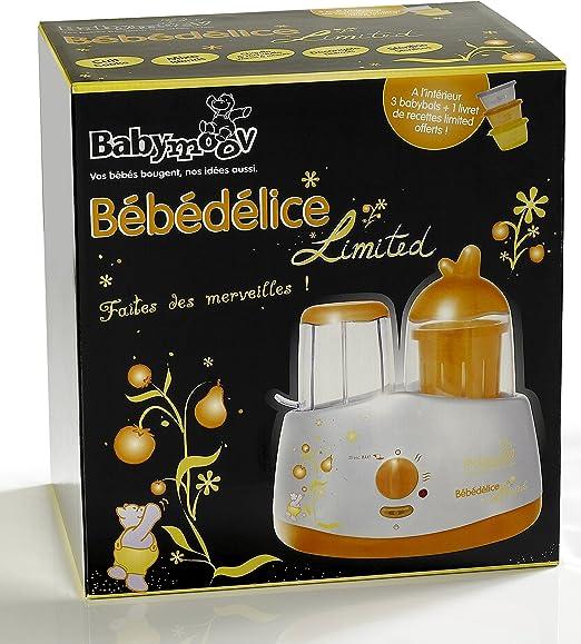 Babymoov Bébédelice - Robot de cocina, color plata: Amazon.es: Bebé