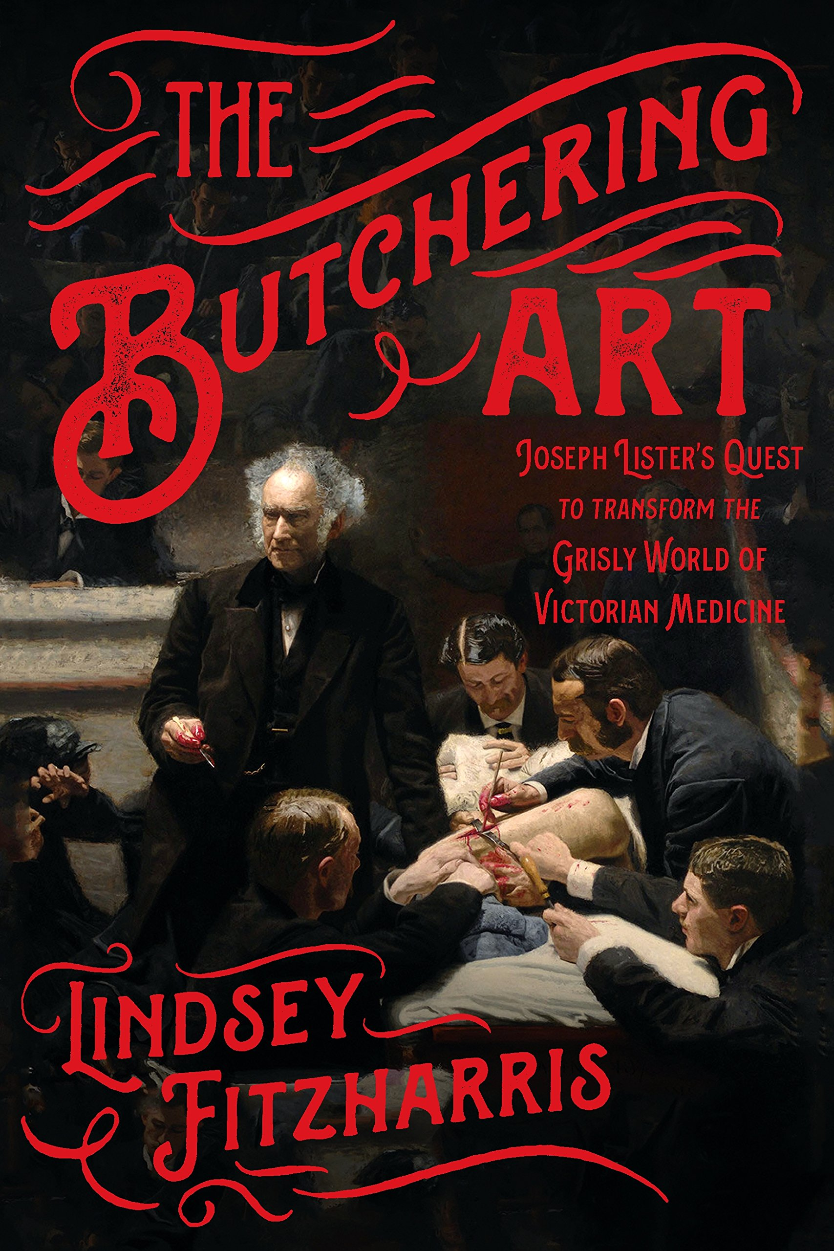 The Butchering Art book cover