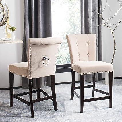 Astounding Amazon Com Safavieh Bst6301C Set2 Taylor Counter Stool Ibusinesslaw Wood Chair Design Ideas Ibusinesslaworg