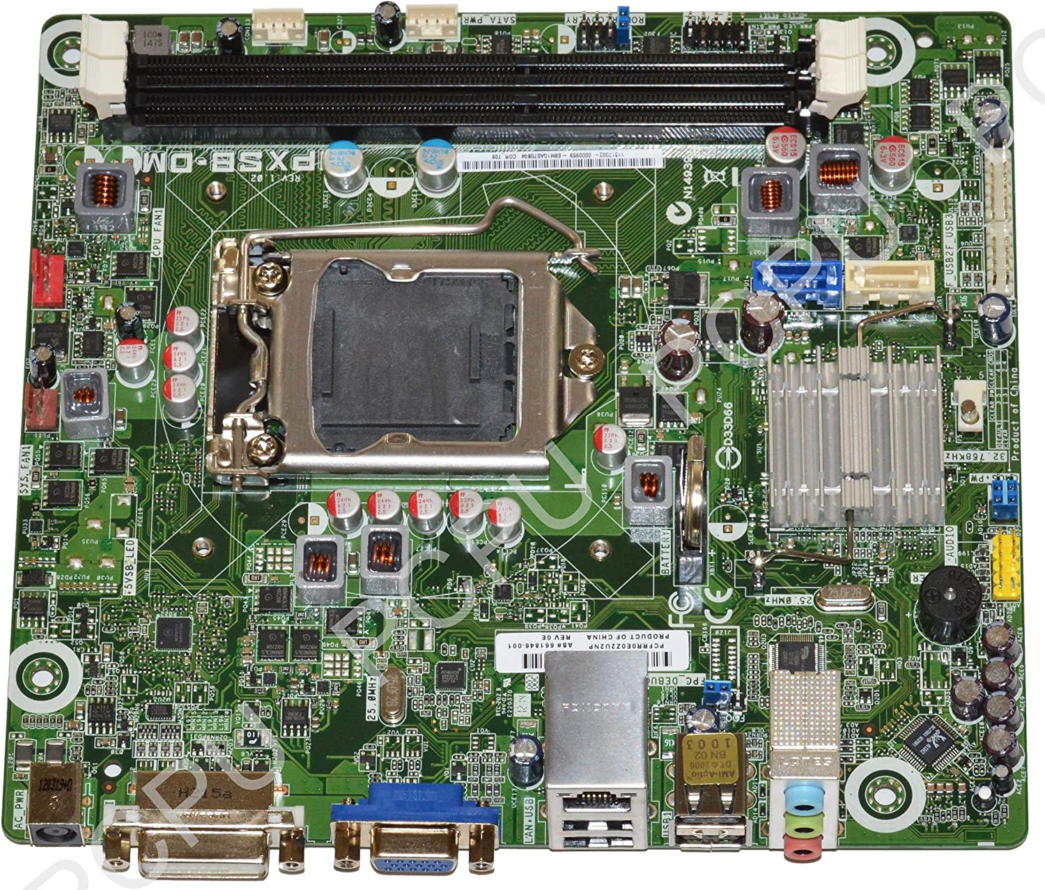 661846-001 HP Cork2 Intel Desktop Motherboard s115X