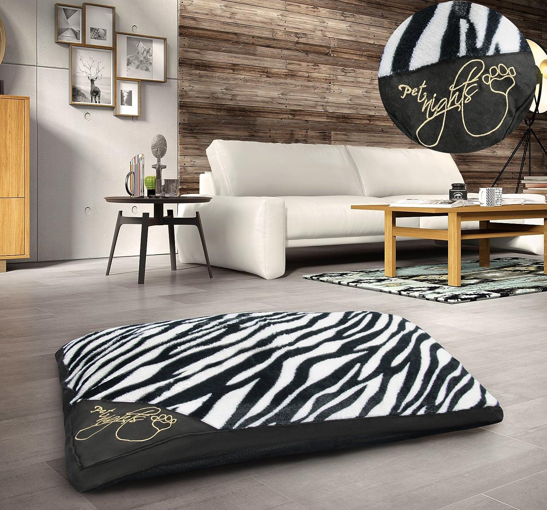 Large Floor Soft Teddy Touch Cushion Pet Pillow Cushion Garden Soft Comfy Cushion Faux Fur Leopard Print