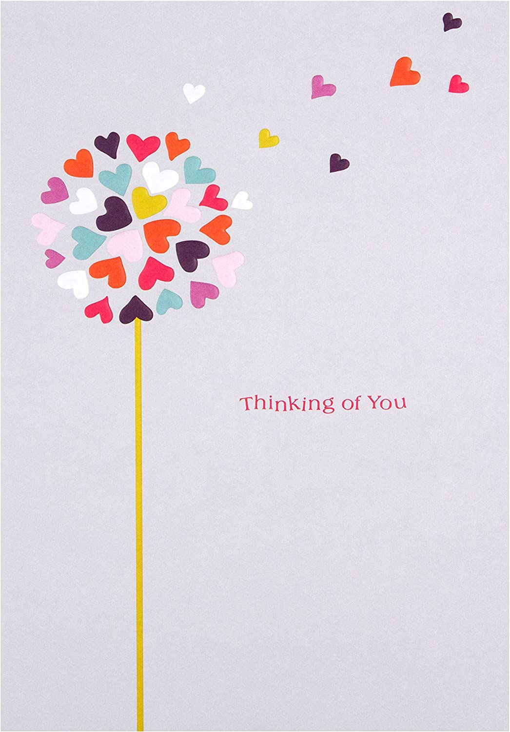 Mental Health Support//Thinking of You Card from Hallmark Contemporary Text Based State of Kind Design