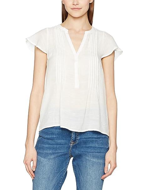 Vero Moda Vmmandy Cap Sleeve Midi Top A, Blusa para Mujer, Blanco (Snow