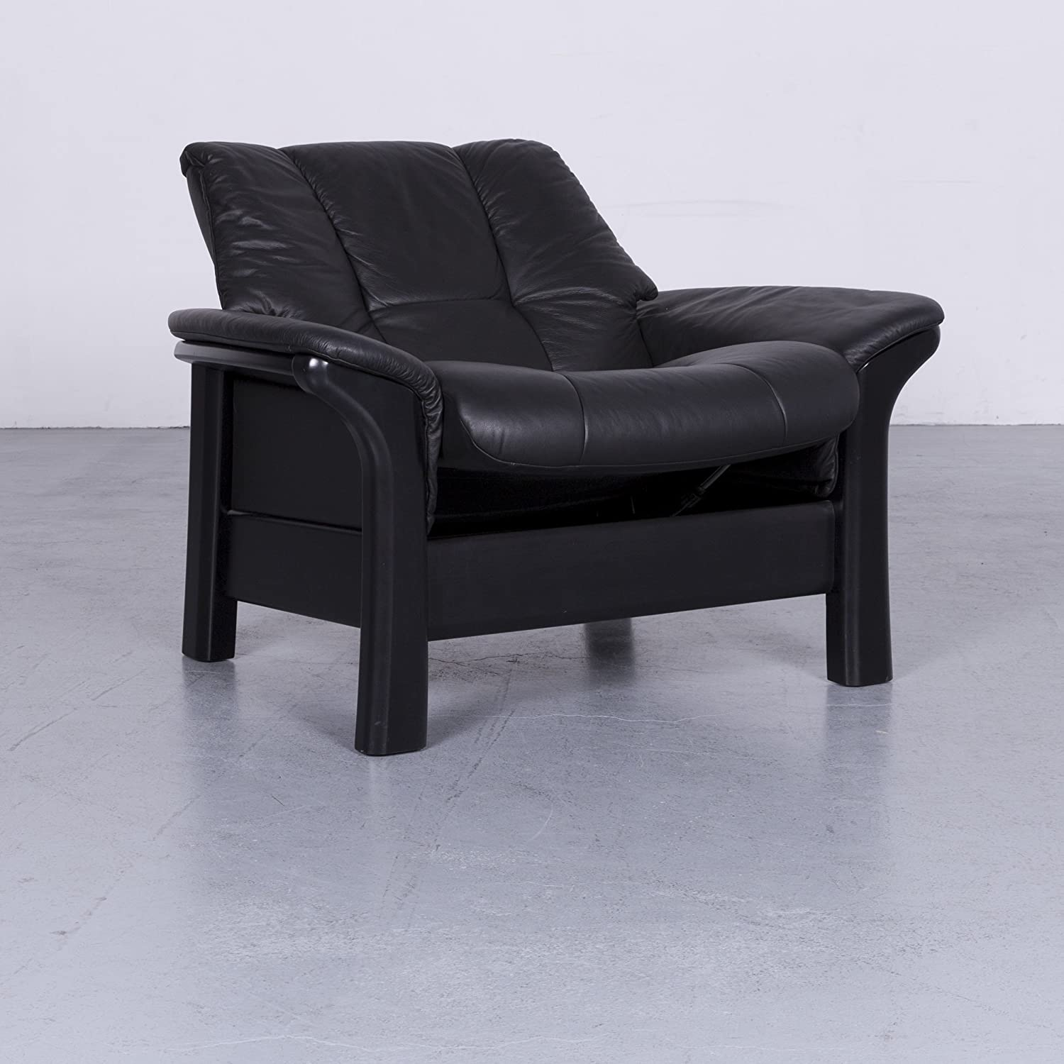 Ekornes Stressless Buckingham Leder Sessel Schwarz Einsitzer ...