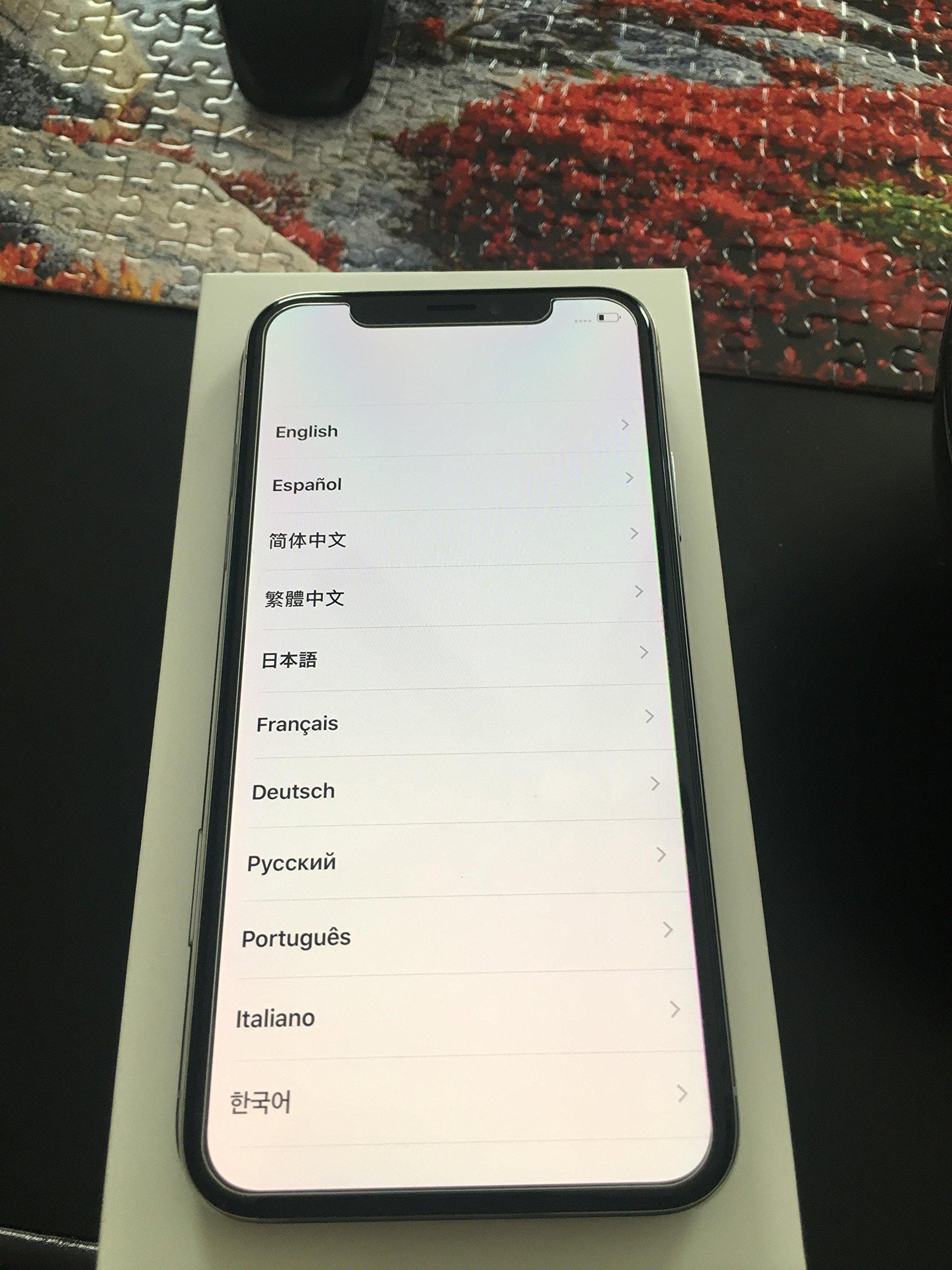 Apple iPhone X 64GB 5.8'' Super Retina Display T-Mobile GMS Silver