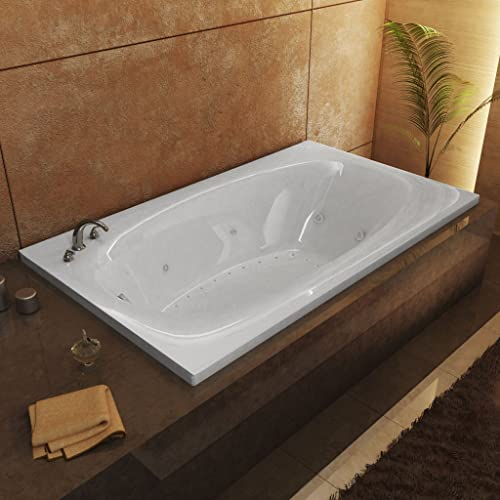 Atlantis Whirlpools 3666PDR Polaris 36 x 66 Rectangular Air Whirlpool Jetted Bathtub