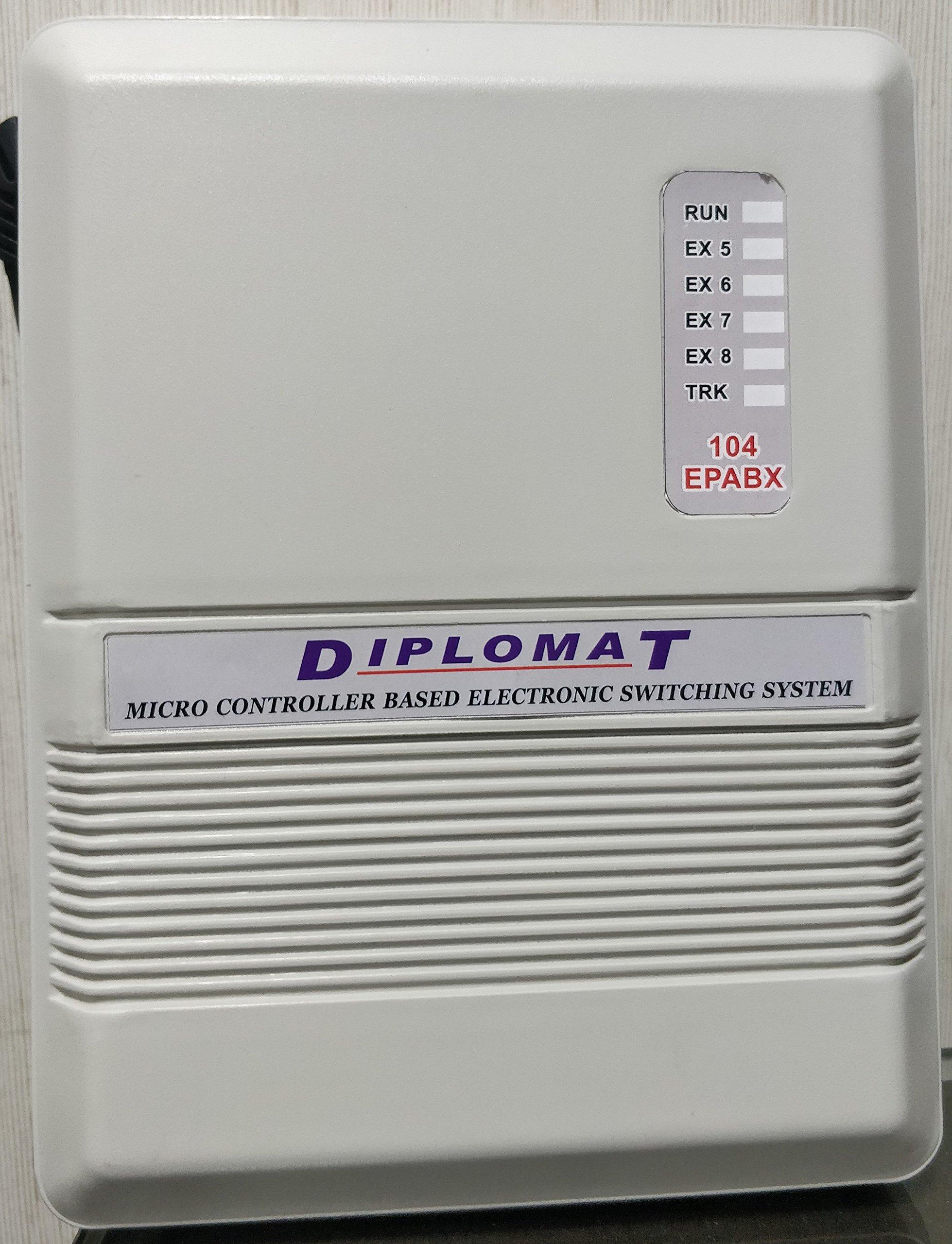 Diplomat Epabx 104 Intercom System Buy Online In Zimbabwe At Desertcart