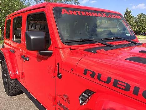 "Black Billet Antenna 2004 thru 2009 Hummer H2 AM FM Car Radio Kit 7/"" Inch"