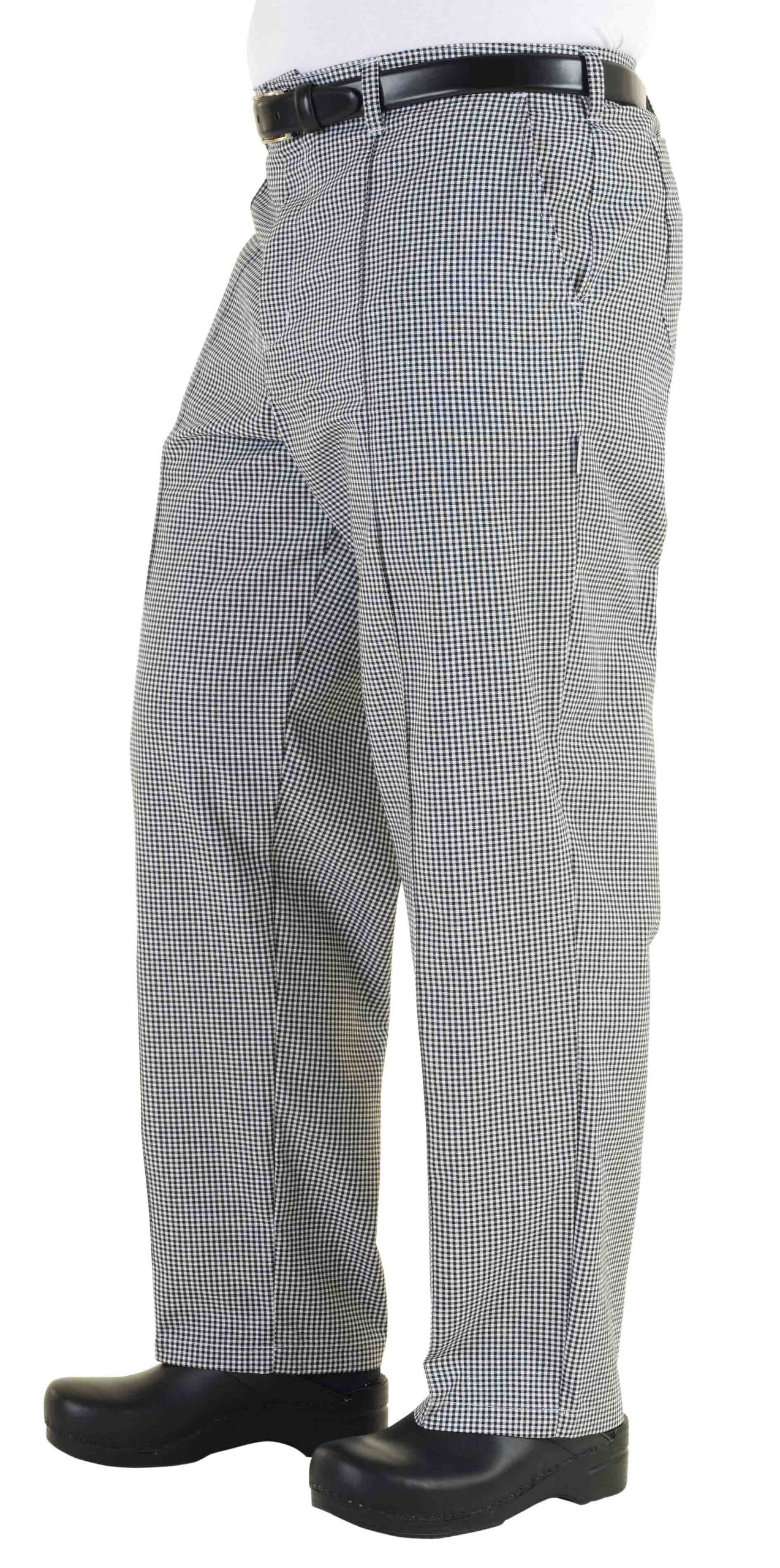 Chef Works Men's Traditional Chef Pant (BWCP) by Chef Works