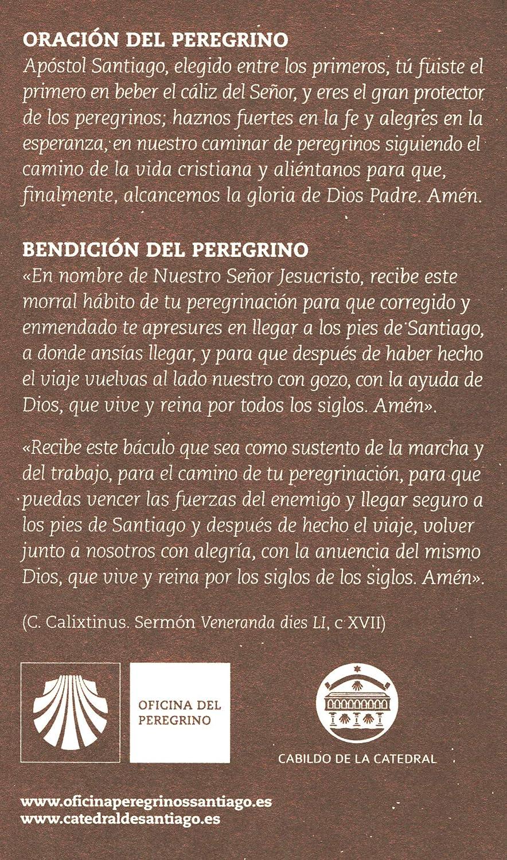 JAKOBS vía peregrino ausweis Jakob & Conchas: Amazon.es: Hogar
