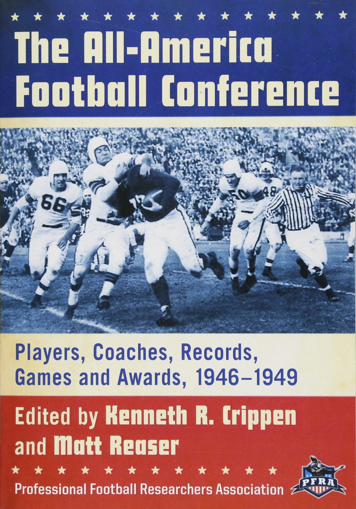 the all america football conference players coaches records