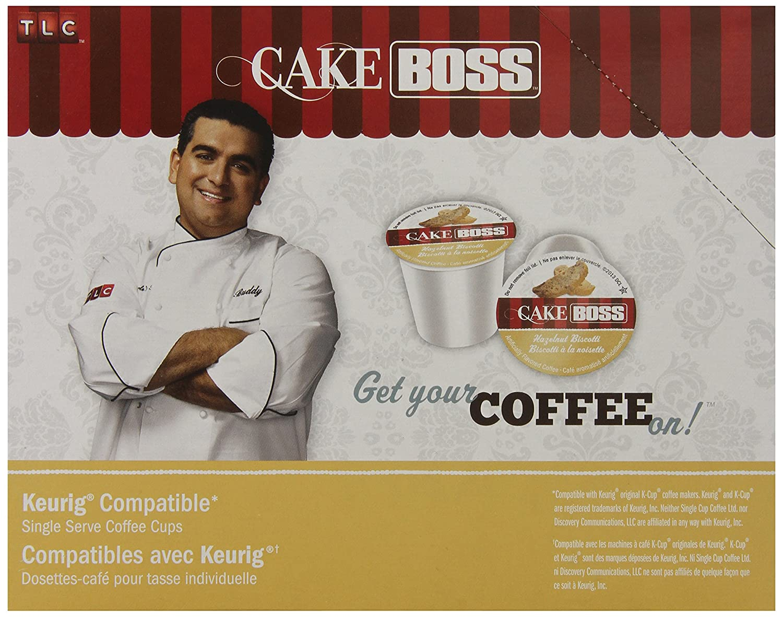 Cake Boss Coffee, Hazelnut Biscotti, 24 Count: Amazon.com: Grocery & Gourmet Food