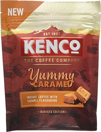 Kenco Barista Edition Yummy Caramel Instant Coffee 66 G Pack Of 6