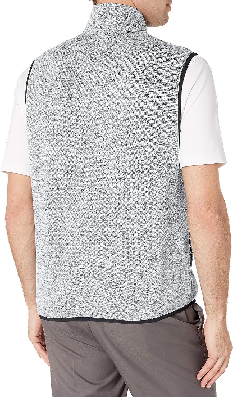 PGA TOUR Mens Fleece Back Vest
