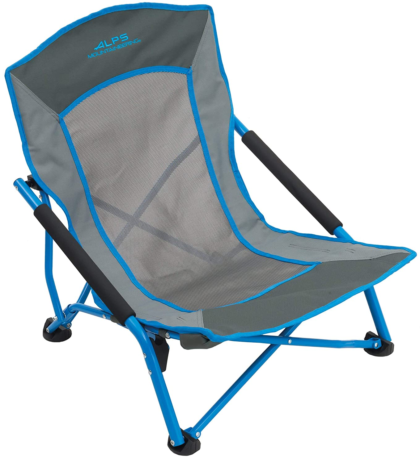 ALPS Mountaineering Rendezvous Chair, Blue/Charcoal [並行輸入品] B07R4WBST4