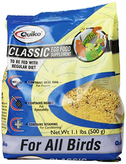 Amazon quiko classic egg food supplement for all birds 11 quiko classic egg food supplement for all birds 11 lb pouch forumfinder Choice Image