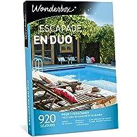 Wonderbox – Coffret cadeau ESCAPADE EN DUO – 920 séjours d'une nuit en hôtels de charme, maisons d'hôtes authentiques, ferme vigneronne pour 2 personnes