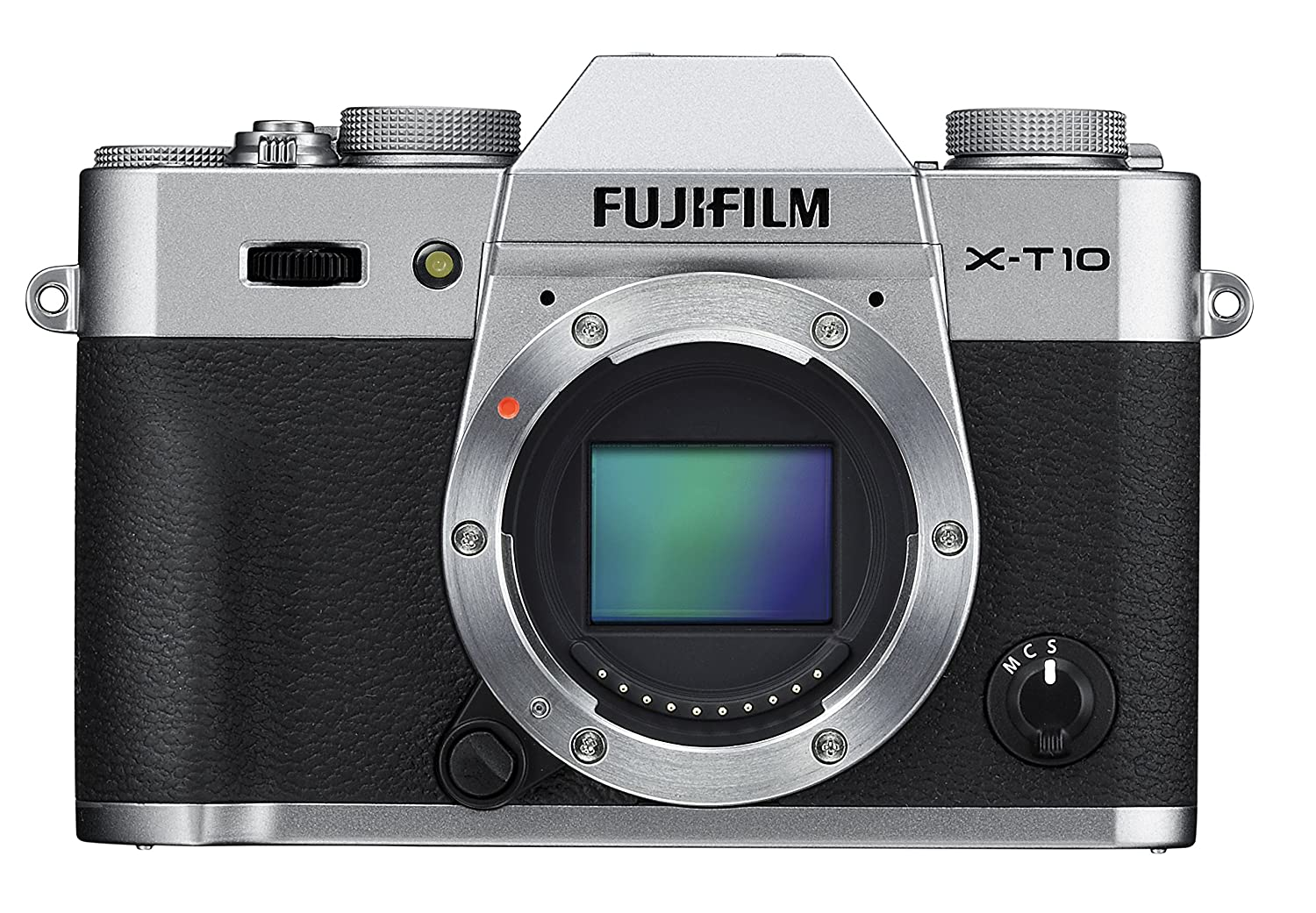 Amazon.com : Fujifilm X-T10 Body Silver Mirrorless Digital Camera : Camera  & Photo