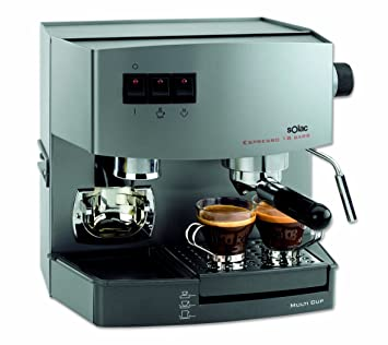 Solac C304G2, Titanic, 1150 W, 230 V, Metal - Máquina de café: Amazon.es: Hogar