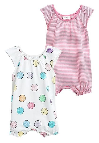 next Bebé-Niñas Pack De Dos Peleles De Punto (0 Meses - 2 Años) Recién Nacido: Amazon.es: Ropa y accesorios