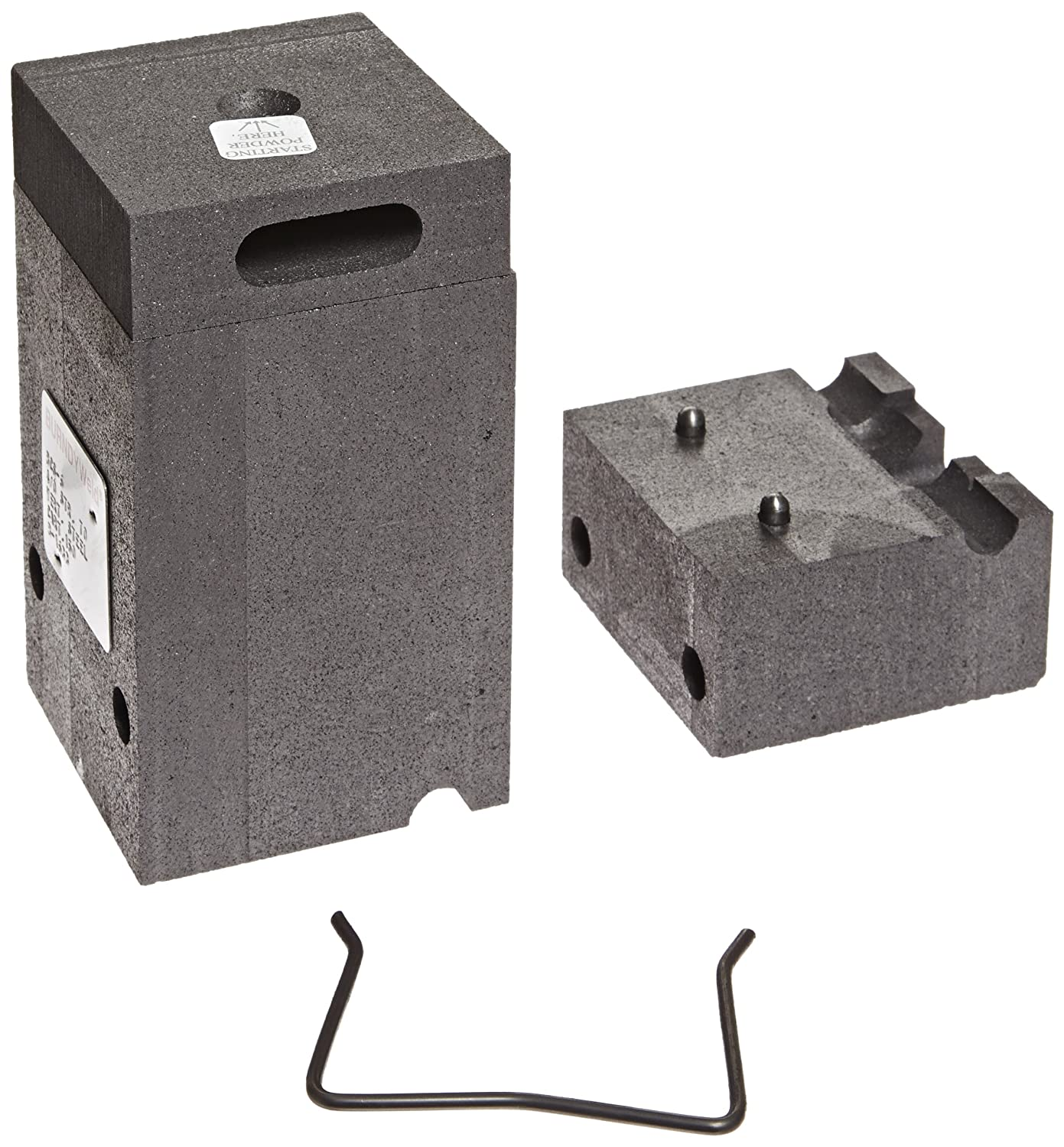 Burndy B-1633 BCS-6 Type Horizontal Through Cable to Vertical Steel Surface Mold Splice 4//0 Cable Size