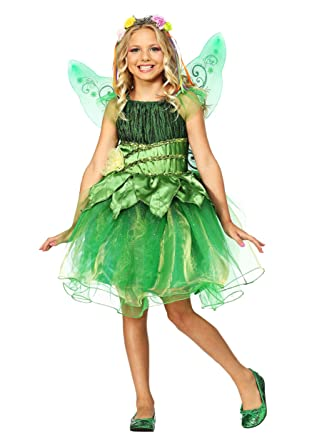 b1b87c1d366 Amazon.com: Kids Fairy Costume Garden Fairy Costume for Girls: Clothing