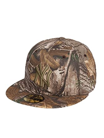 New Era Mujeres Gorras / Gorra plana Realtree NY Yankees 59Fifty ...