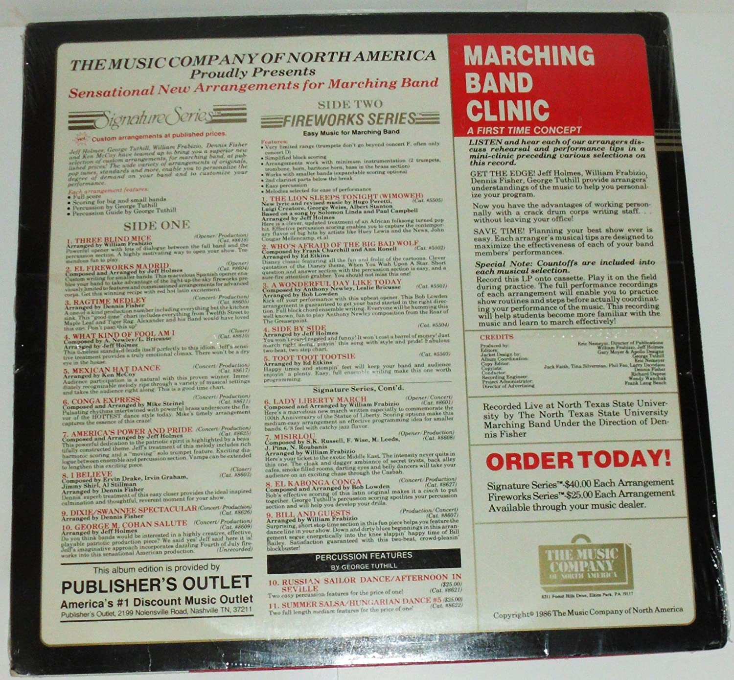 Amazon.com: Various - Hot New Music For Marching Band Vol ...