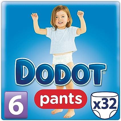 Dodot Pants - Pack 32 pañales, talla 6, 16+kg: Amazon.es: Salud y ...