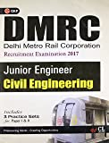 DMRC Civil Engineering (Junior Engg. Recruitment Exam.) Includes 3 Practice Papers (Old Edition)