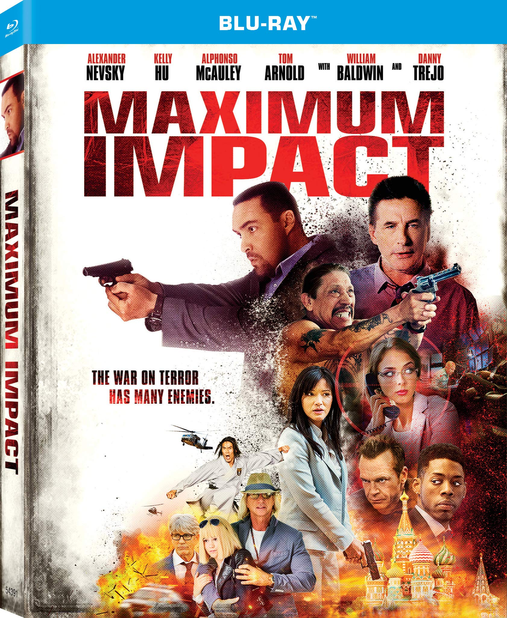 Blu-ray : Maximum Impact (Dolby, AC-3, Widescreen, Dubbed, Subtitled)