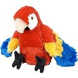 """Wild Republic Scarlet Macaw Plush, Stuffed Animal, Plush Toy, Gifts for Kids, Cuddlekins 8"""""""