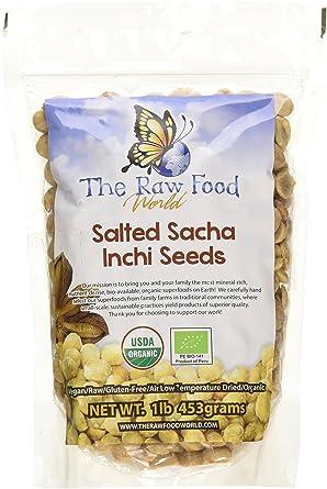 Orgánica Salado Sacha Inchi semillas, 1Lb: Amazon.com ...