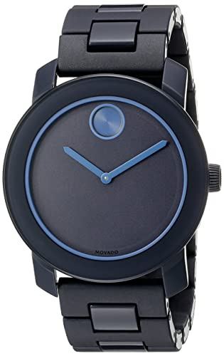 Movado Men s 3600314 Analog Display Swiss Quartz Blue Watch