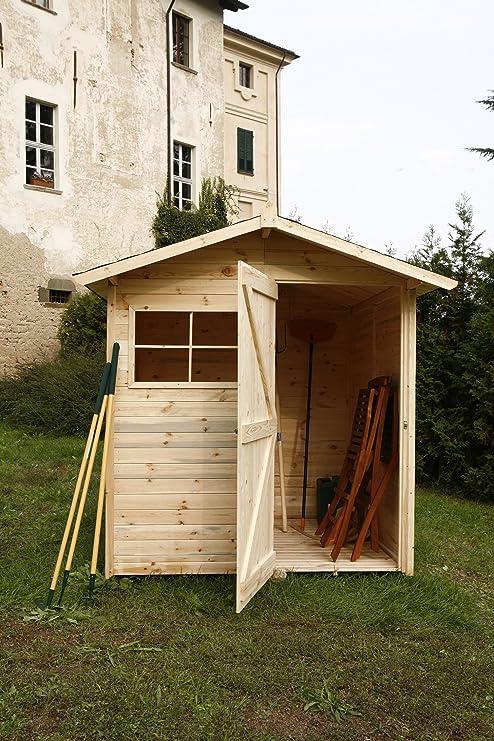 SRL - Código C200/1 - Caseta de madera para jardín,