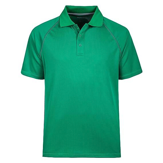 MOHEEN Hombres Camisa De Polo Camisas Big de absorción de Humedad ...