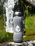 NEW 2018 'Storm' Grey protective insulator carrier for Eco stainless filter bottle