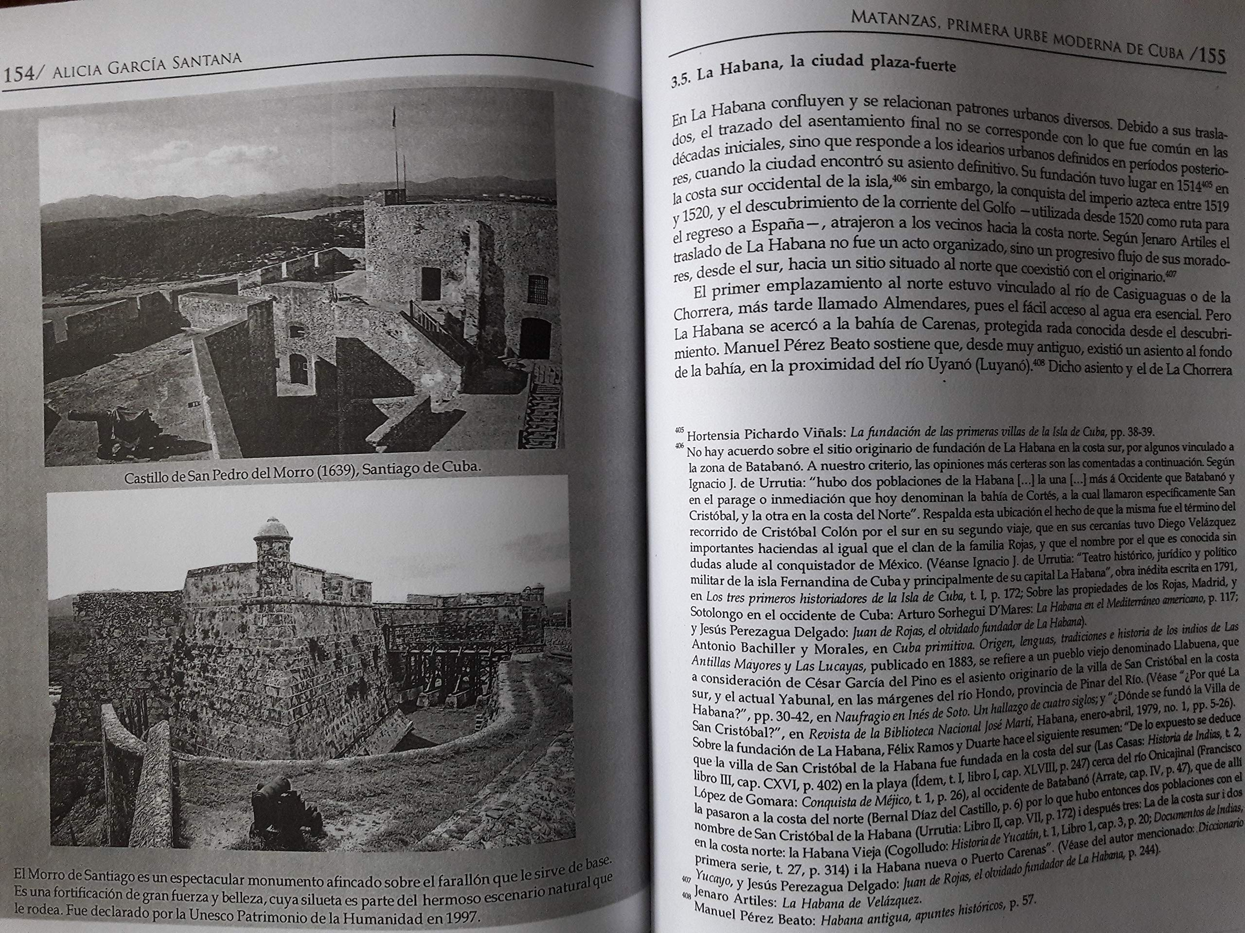 Matanzas primera urbe moderna de cuba.spanish edition.: Alicia garcia santan, julio larramendi: 9789592683945: Amazon.com: Books