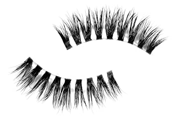 d111807fa9f Amazon.com : Long Wispy Lashes Thick Dramatic Real 3D False Mink Eyelashes  Cruelty Free Reusable For Glamorous Make Up in style Gaia : Beauty