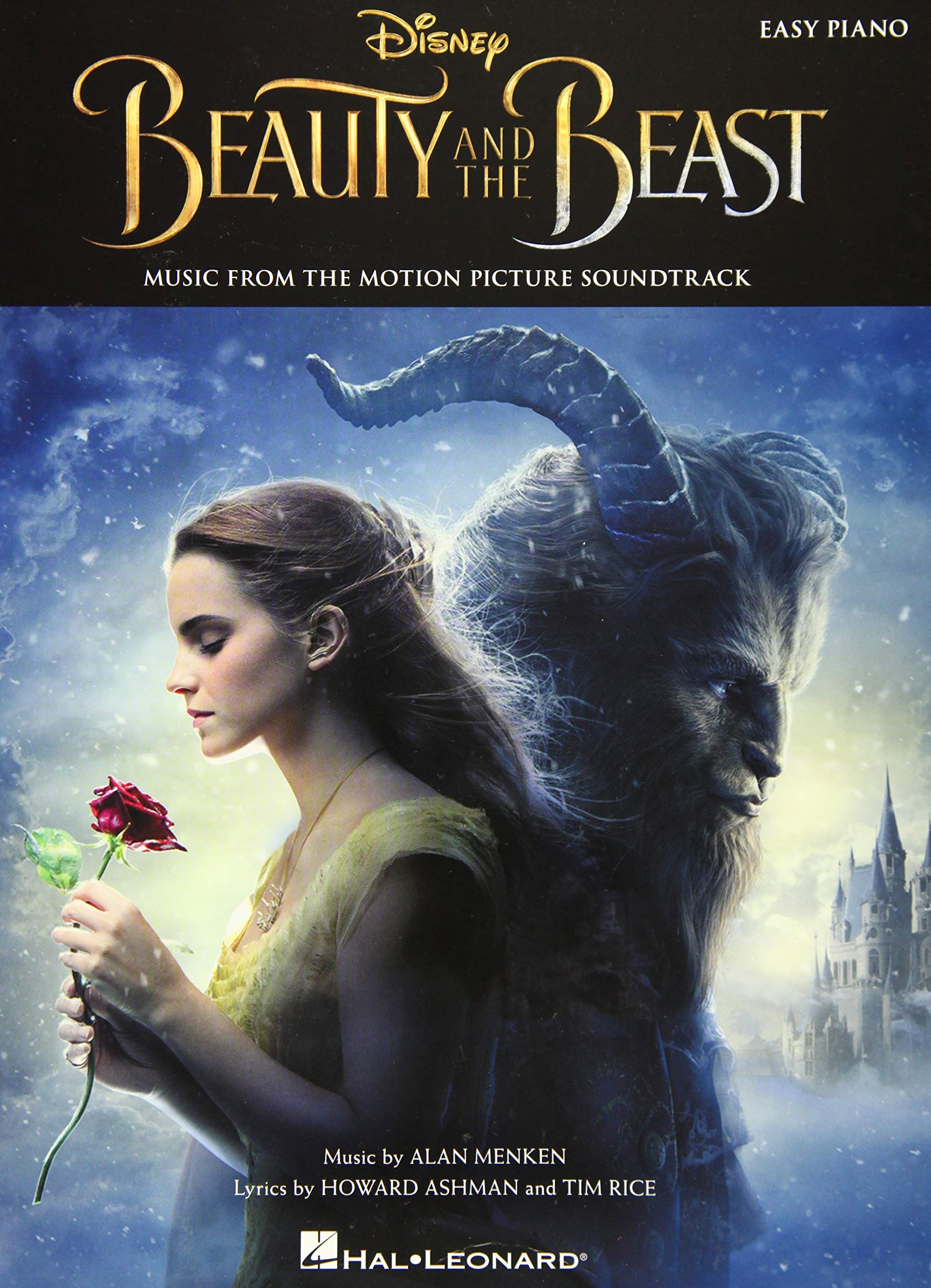 Beauty And The Beast  Music From The Motion Picture Soundtrack  Easy Piano   Songbook Für Klavier