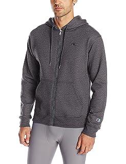Champion Men/'s Premium Tech Fleece Pullover Hoodie Performance Stealth M L