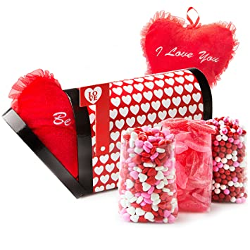 Amazon.com : Valentines Day Candy Heart Love Gift, Valentine ...