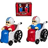 Make Your Nan / Granny Grannie Smile Gift / Present - Wind Up Racing Grannies
