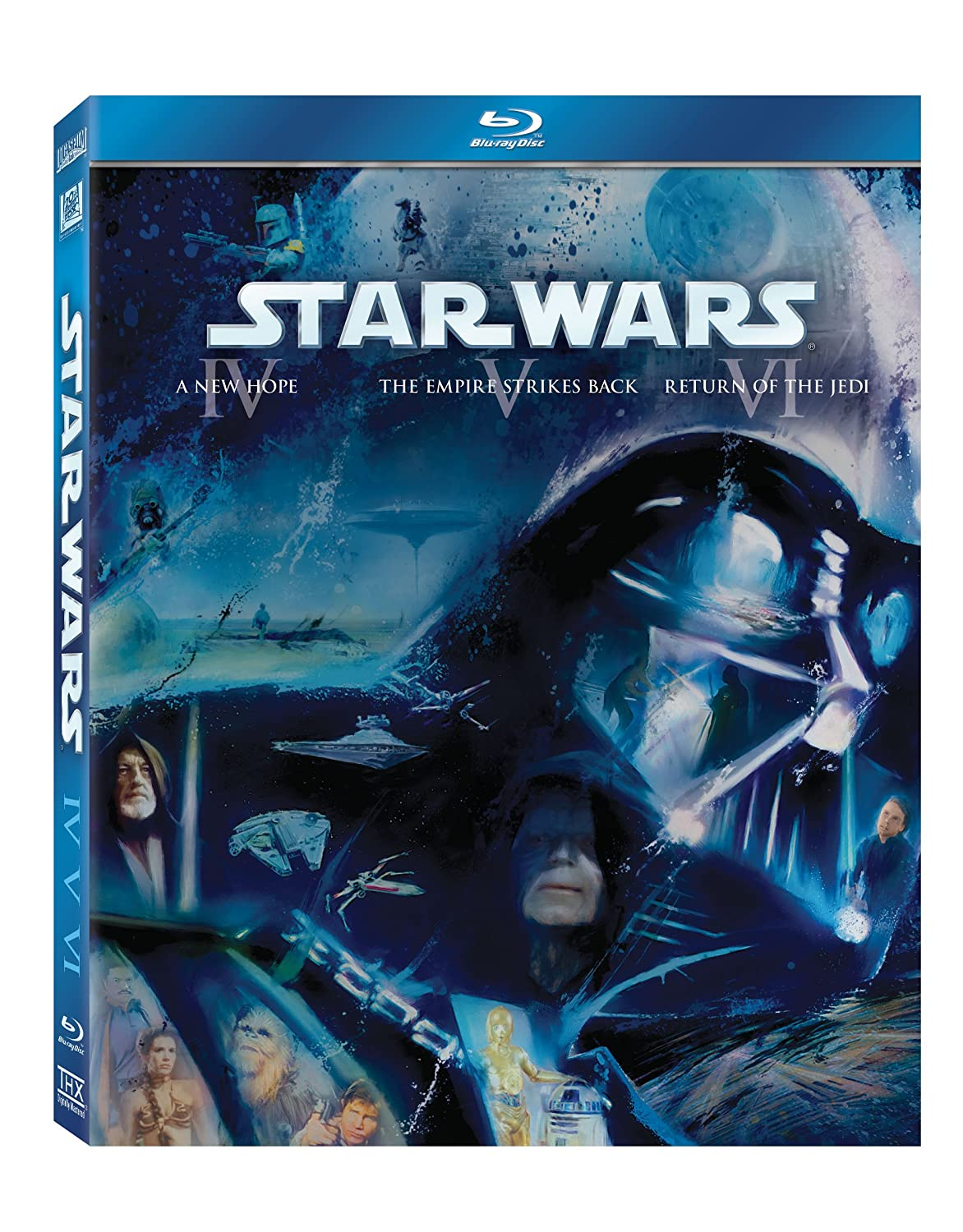 Amazon com: Star Wars: The Original Trilogy (Episode IV: A