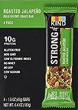 Stong & Kind Roasted Jalapeno Almond Protein Bars, 4 - 1.6oz Bars